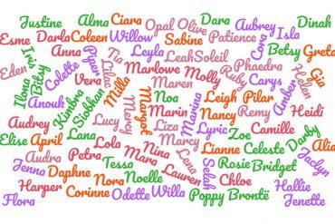 100 two-syllable girl baby names