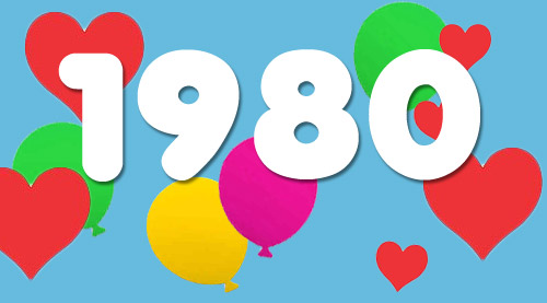 Top 50 baby names of 1980