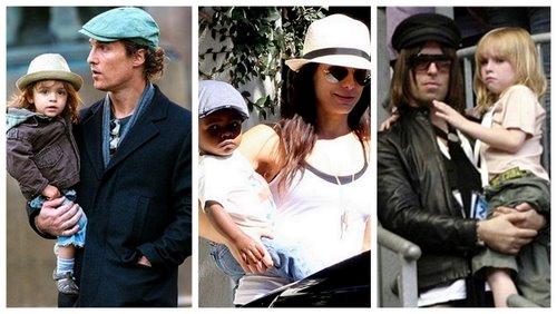 Celebrity baby boy names: L