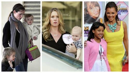 Celeb baby girl names: S