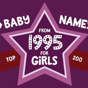 200 most popular baby names for girls born in 1995