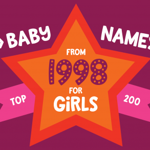 200 most popular baby names for girls born in 1997 - Click Baby Names