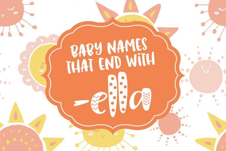 Fun baby names ending in -ella - Click Baby Names