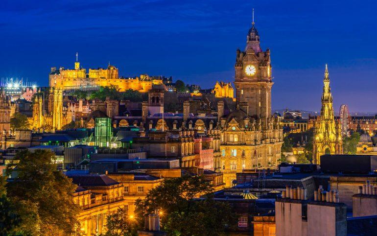 Edinburgh, Scotland UK - Scottish baby names for girls