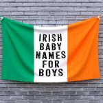 Most popular Irish baby names for boys