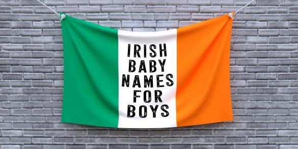 Most popular Irish baby names for boys