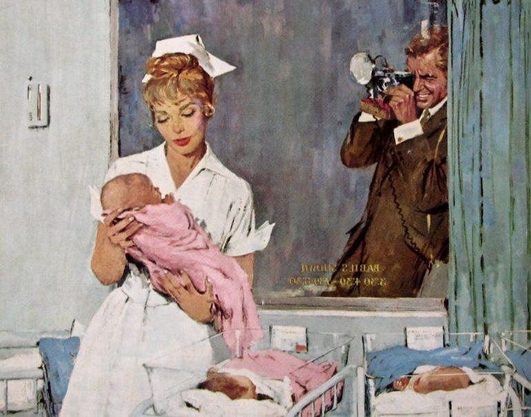 Newborn baby hospital 1961 - Top 50 baby names of 1960