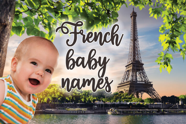 French baby names for girls & boys