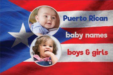Puerto Rican baby names