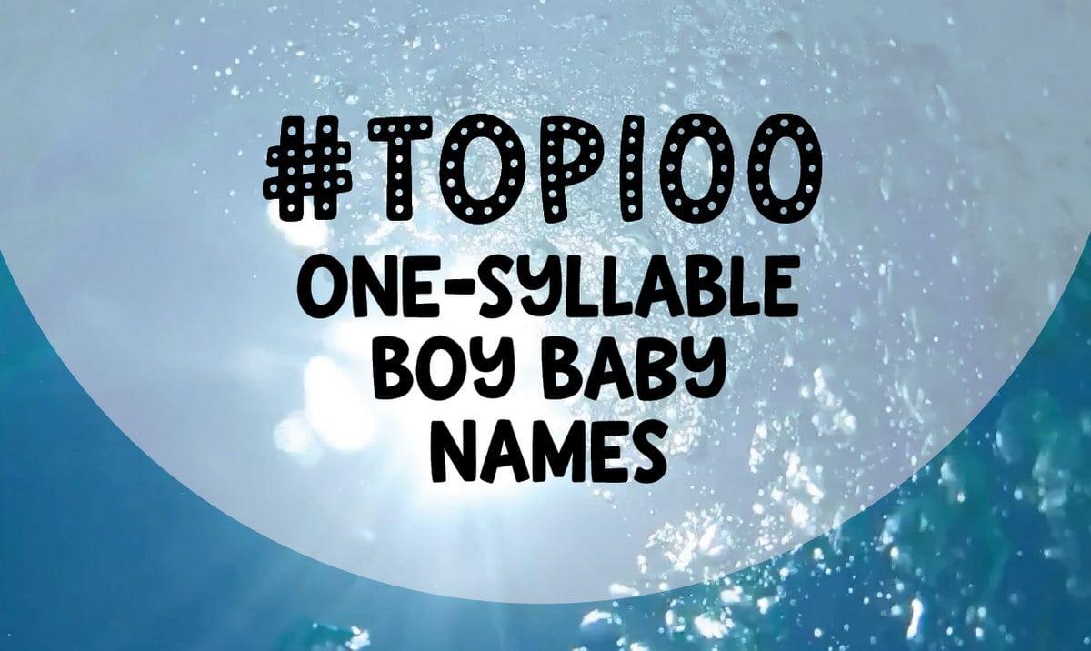100 one-syllable boy baby names - Click Baby Names