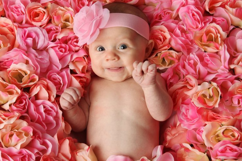 Top 50 flower baby names for girls