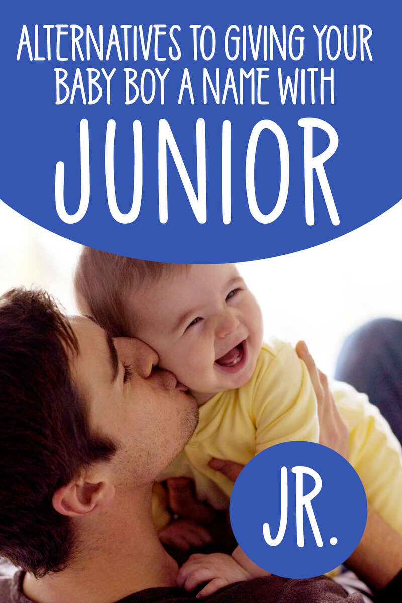 What are some alternatives to using a baby name with Junior for a boy
