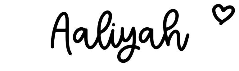 About the baby nameAaliyah, at Click Baby Names.com