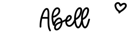 About the baby name Abell, at Click Baby Names.com