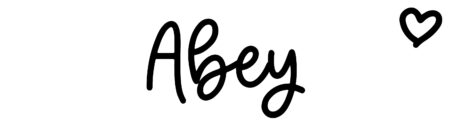 About the baby name Abey, at Click Baby Names.com