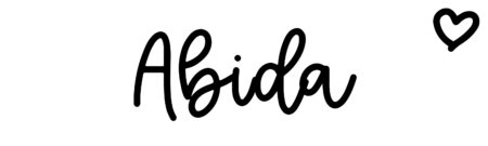 About the baby name Abida, at Click Baby Names.com