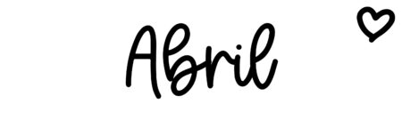 About the baby name Abril, at Click Baby Names.com