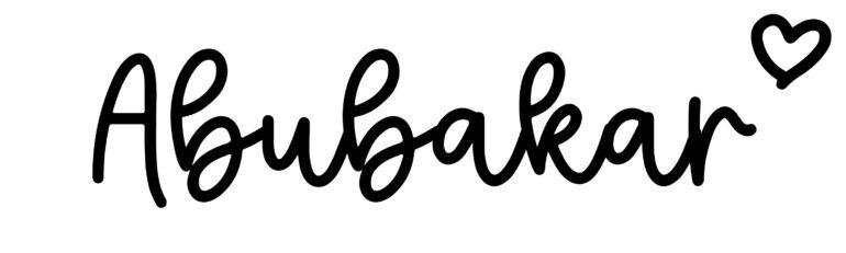 About the baby nameAbubakar, at Click Baby Names.com