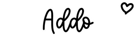 About the baby name Addo, at Click Baby Names.com