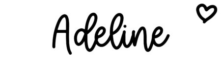 About the baby name Adeline, at Click Baby Names.com