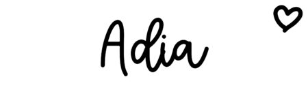 About the baby name Adia, at Click Baby Names.com