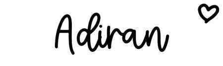 About the baby nameAdiran, at Click Baby Names.com