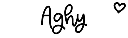 About the baby name Aghy, at Click Baby Names.com