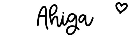 About the baby name Ahiga, at Click Baby Names.com