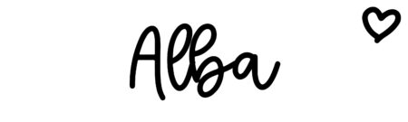 About the baby name Alba, at Click Baby Names.com
