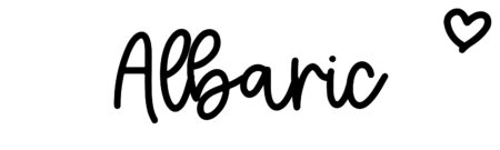 About the baby nameAlbaric, at Click Baby Names.com