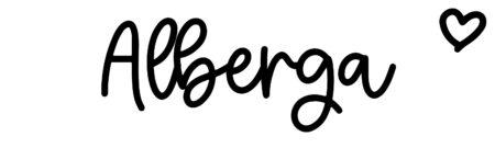 About the baby nameAlberga, at Click Baby Names.com