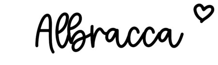About the baby nameAlbracca, at Click Baby Names.com