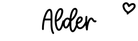 About the baby name Alder, at Click Baby Names.com