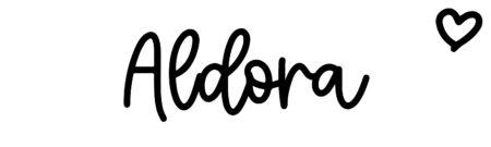 About the baby nameAldora, at Click Baby Names.com