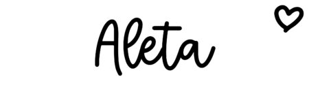 About the baby name Aleta, at Click Baby Names.com