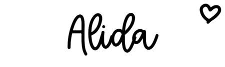 About the baby nameAlida, at Click Baby Names.com