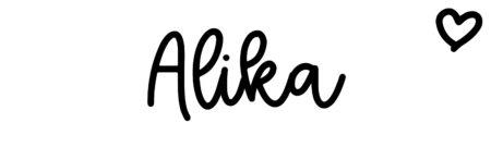 About the baby nameAlika, at Click Baby Names.com