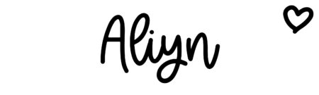 About the baby name Aliyn, at Click Baby Names.com