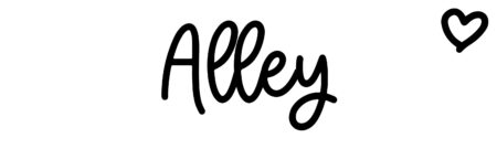 About the baby name Alley, at Click Baby Names.com