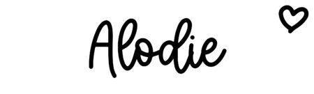 About the baby nameAlodie, at Click Baby Names.com