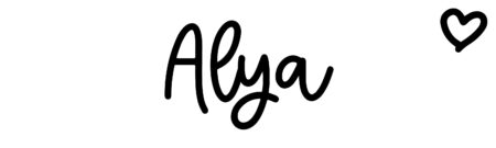 About the baby name Alya, at Click Baby Names.com