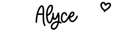 About the baby name Alyce, at Click Baby Names.com