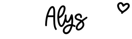 About the baby name Alys, at Click Baby Names.com
