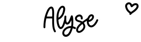 About the baby nameAlyse, at Click Baby Names.com