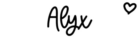 About the baby nameAlyx, at Click Baby Names.com