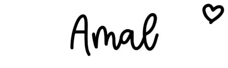About the baby name Amal, at Click Baby Names.com