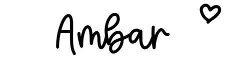 About the baby nameAmbar, at Click Baby Names.com