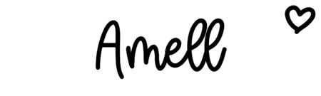 About the baby name Amell, at Click Baby Names.com