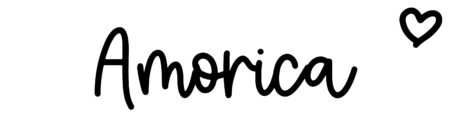 About the baby nameAmorica, at Click Baby Names.com
