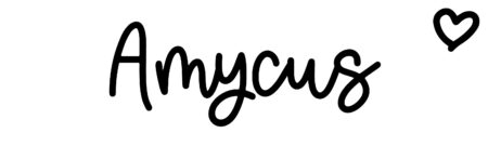 About the baby nameAmycus, at Click Baby Names.com